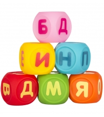 Набор Кубиков Учим буквы Пома 6шт