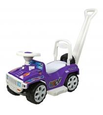 Каталка RT Race Mini Formula 1 с ручкой фиолетовый ОР856...