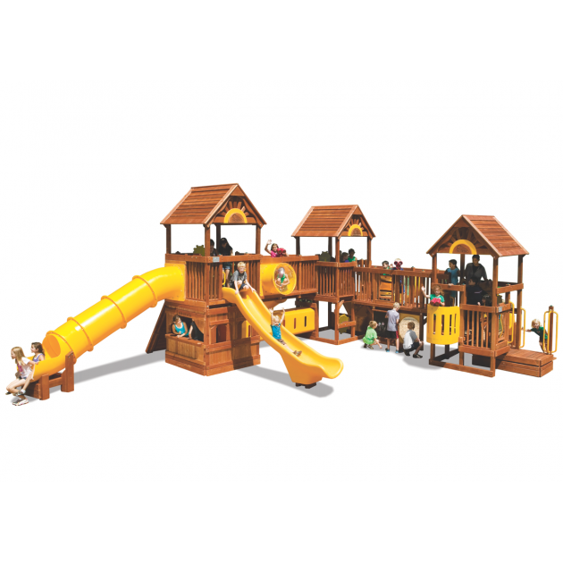 Детская площадка Rainbow Play Systems Play Village 107A RYB