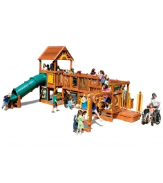 Детская площадка Rainbow Play Systems Play Village 111A RYB