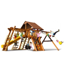 Детский городок Rainbow Play Systems sunshine castle Pkg III WR Deluxe
