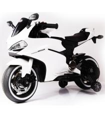 Электромобиль Мотоцикл A0 синий