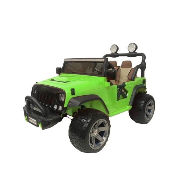 Электромобиль jeep A004A зеленый
