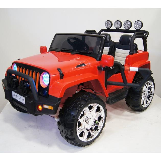 Электромобиль jeep A004A красный