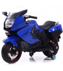 Электромобиль Superbike Moto синий