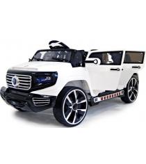 Электромобиль Mers белый Лимузин