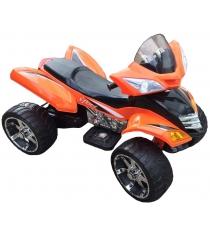Электромобиль квадроцикл оранжевый