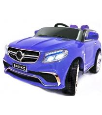 Электромобиль Mercedes синий