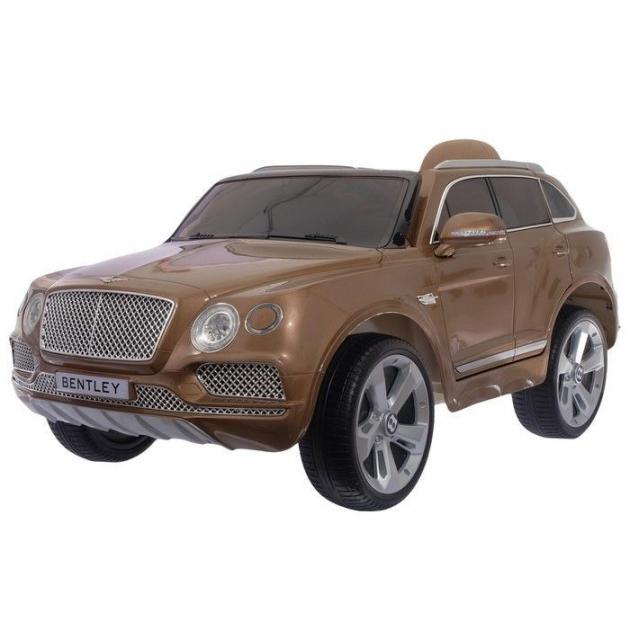 Электромобиль bentley bentayga JJ2158 коричневый глянец