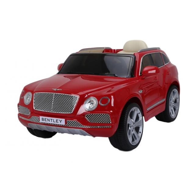 Электромобиль bentley bentayga JJ2158 красный