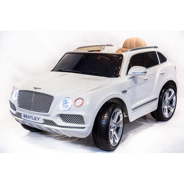 Электромобиль bentley bentayga JJ2158 белый