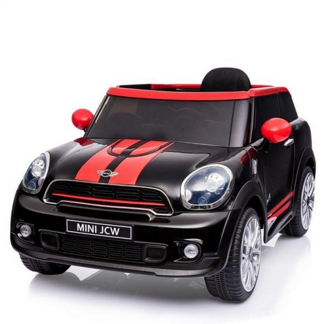 Электромобиль mini cooper JJ2258 черный