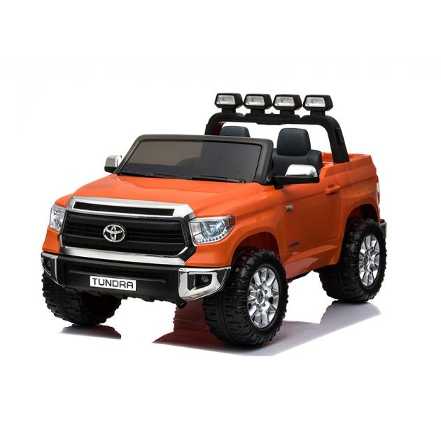 Электромобиль toyota tundra mini JJ2266 оранжевый