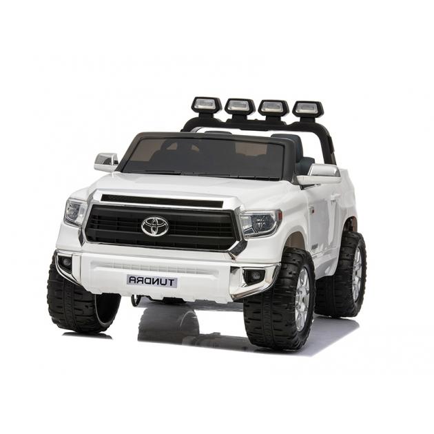Электромобиль toyota tundra mini JJ2266 белый