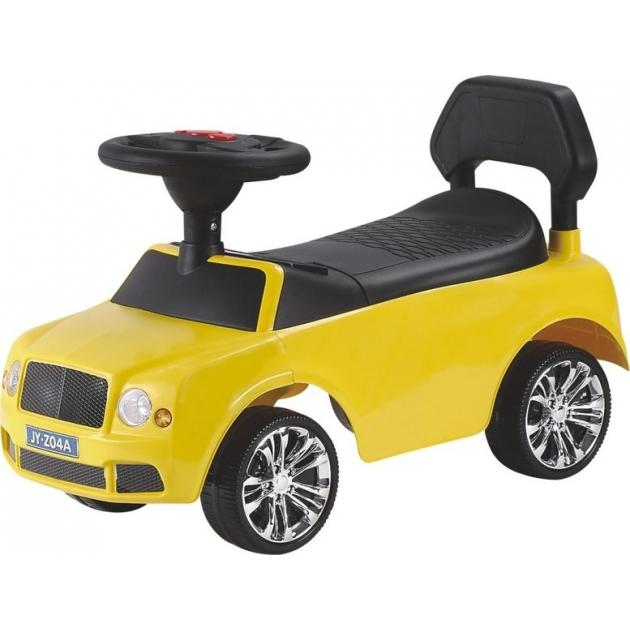 Каталка толокар Bentley желтый
