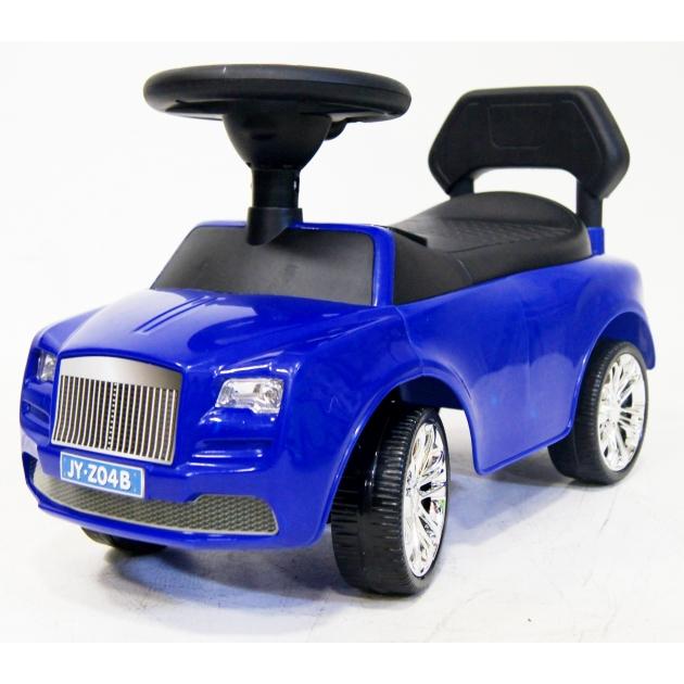 Каталка толокар Rolls Royce синий