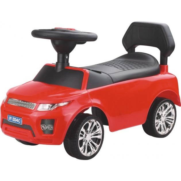 Электромобиль Range Rover красный