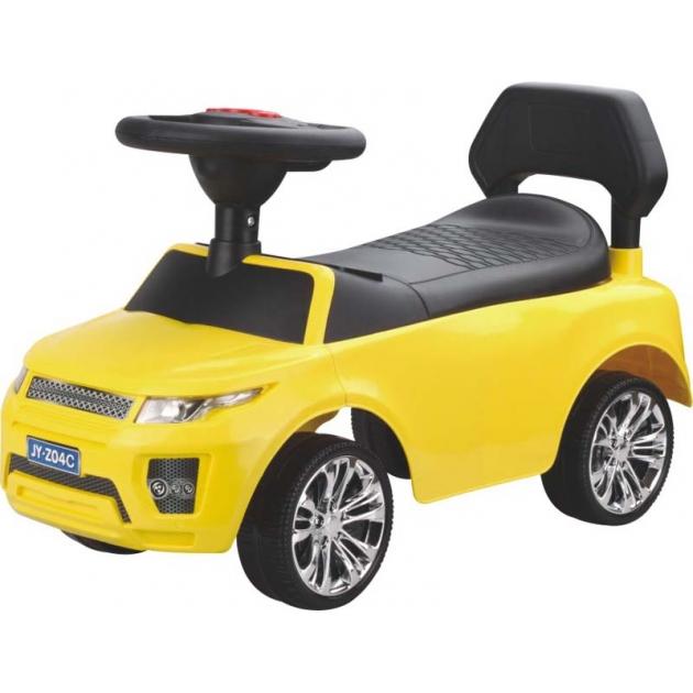 Электромобиль Range Rover желтый