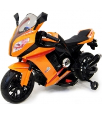 Электромобиль Moto M1 оранжевый
