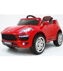 Электромобиль Porsche Macan Vip красный