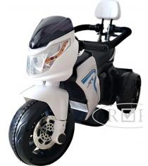 Детский мотоцикл белый