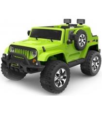 Электромобиль Jeep Wrangler зеленый