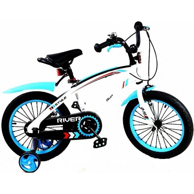 Двухколесный велосипед RVR RiverBike Q-12 (от 2 до 4 лет) голубой