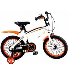 Двухколесный велосипед RVR RiverBike Q-12 (от 2 до 4 лет) оранжевый