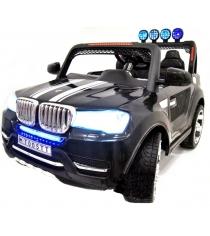 Электромобиль BMW черный