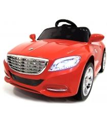 Электромобиль Mercedes T0 красный
