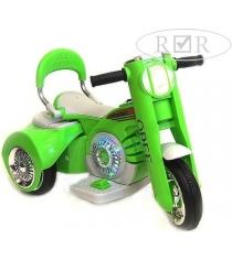 Детский мотоцикл зеленый