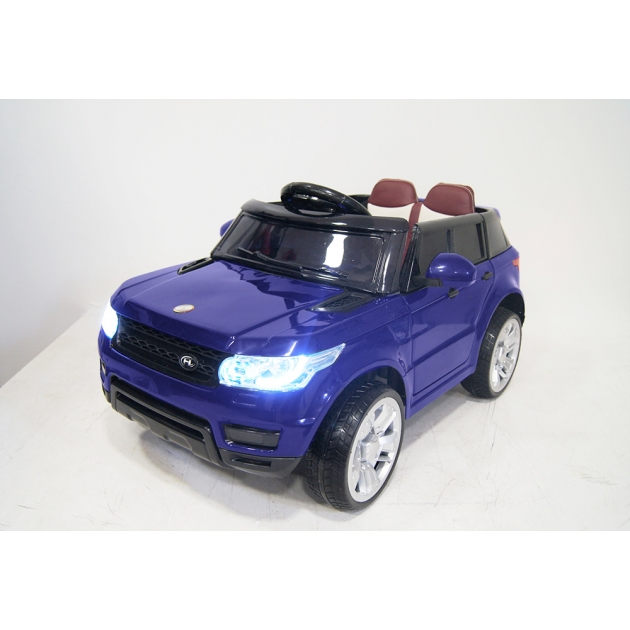 Электромобиль range E004EE синий