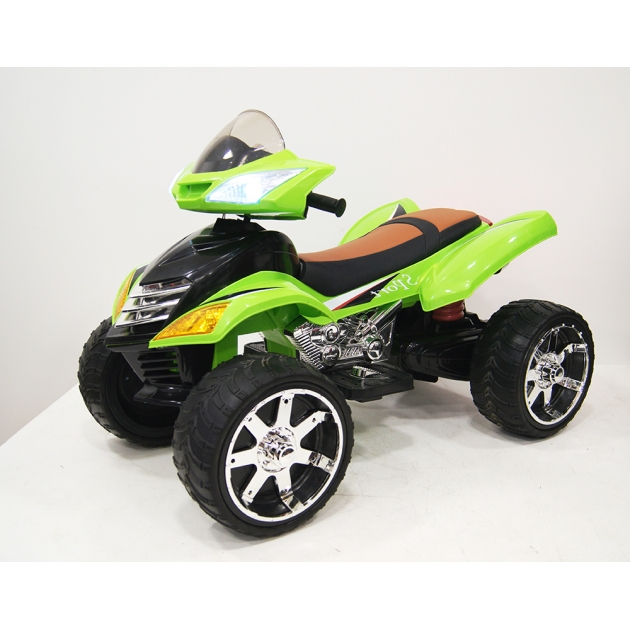 Квадроцикл Е005КХ-A зеленый