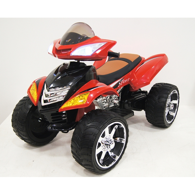 Квадроцикл Е005КХ-A красный