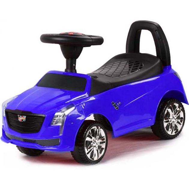 Каталка толокар Cadillac синий