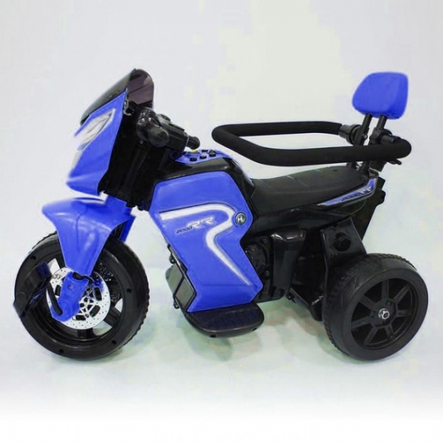 Велосипед электромотоцикл 2в1 O777OO синий
