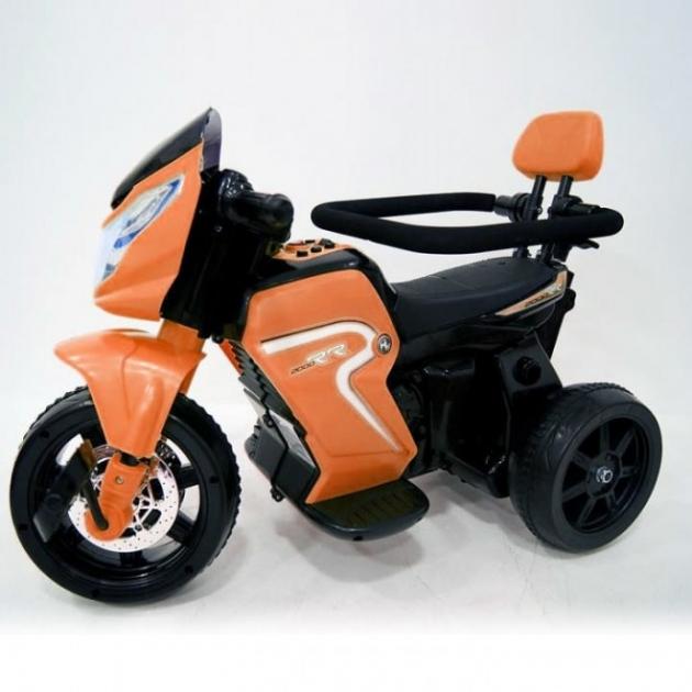 Велосипед электромотоцикл 2в1 O777OO оранжевый