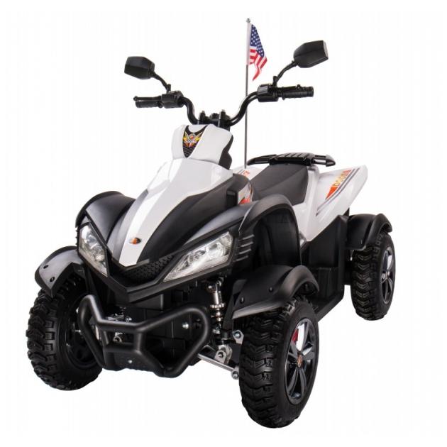 Квадроцикл P333PP белый