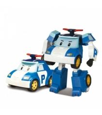 Машинка-трансформер Поли мини 7,5 см 83046 Робокар Поли
