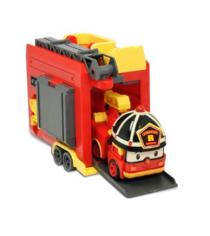 Кейс с трансформером Рой 12,5 см с гаражом 83073 Робокар Поли