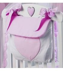 Сумка на кроватку Roman Baby Cuore di Mamma 6109