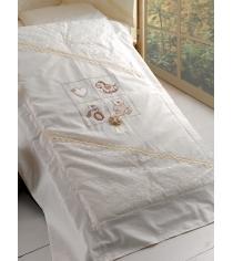 Комплект сменного белья в кроватку 3 предмета Roman Baby Romantica 1017