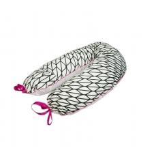 Подушка для беременных Roxy Mama's Helper Премиум Зебра кармашек и завязки