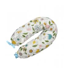 Подушка для беременных Roxy Mama's Helper Премиум Флора кармашек и завязки