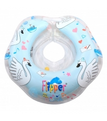 Круг на шею ROXY KIDS Flipper Swan Lake Мusic голубой FL004