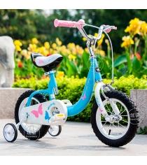 Двухколесный велосипед Royal Baby Butterfly Steel от 4 до 6 лет RB16-19...