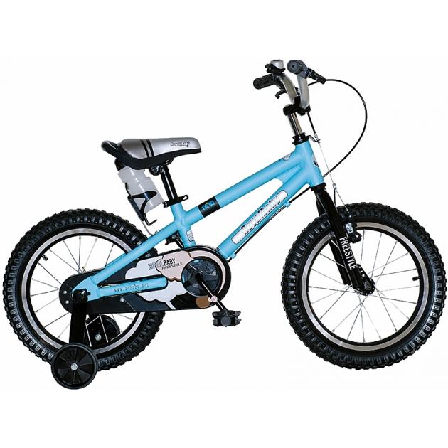 Двухколесный велосипед Royal Baby Freestyle Alloy 3-6 лет RB14B-7 Синий