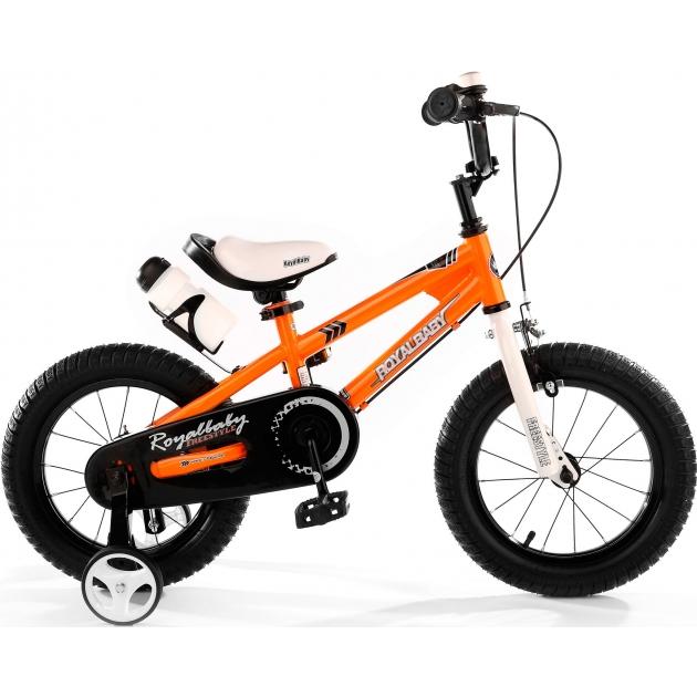 Двухколесный велосипед Royal Baby Freestyle Steel 2-4 года RB12B-6 Оранж