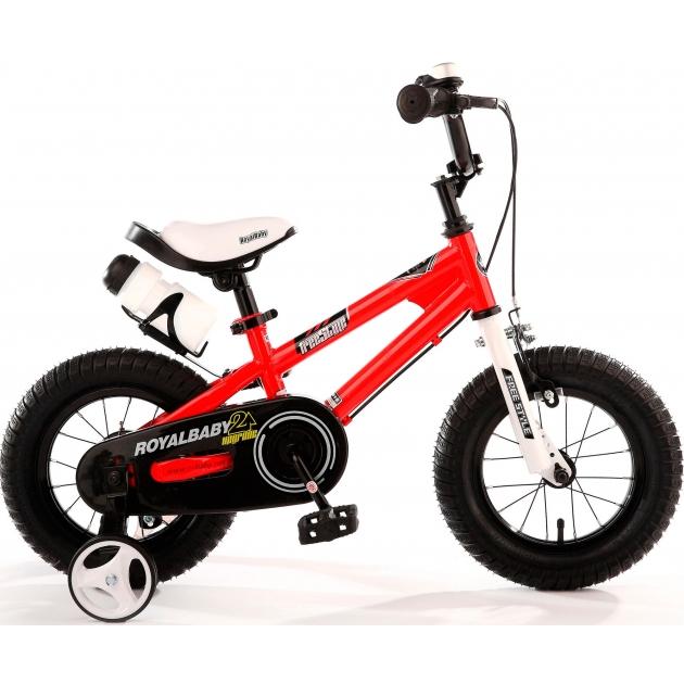Двухколесный велосипед Royal Baby Freestyle Steel 4-8 лет RB16B-6 Красный