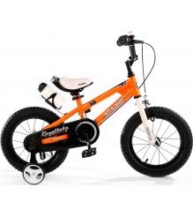 Двухколесный велосипед Royal Baby Freestyle Steel 4-8 лет RB16B-6 Оранжевый